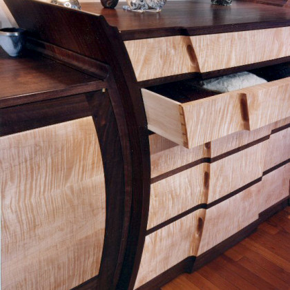 3 Piece Dresser, detail, by Ray Kelso
