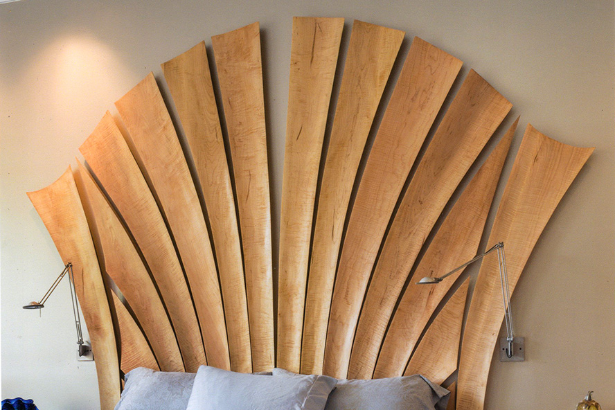 Custom Headboard by Ray Kelso