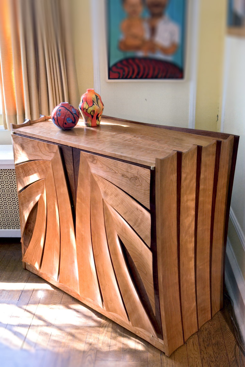Stereo Cabinet by Ray Kelso