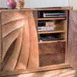 Stereo Cabinet, open, by Ray Kelso