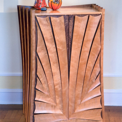Stereo Cabinet, view 2, by Ray Kelso